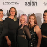The Green Hair Spa Stylists (L-R): Kristen Pitcher, Jessika Guy, Pailine Koert, Ashley Nisbet, Amanda Reid