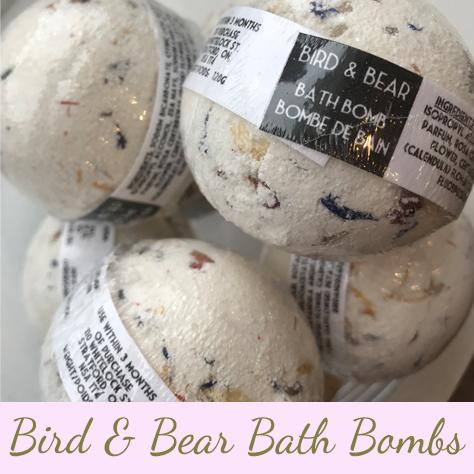 The Green Hair Spa Products | Bird & Bear Bath Bombs