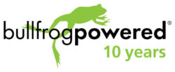 Bullfrog powered for 10 years